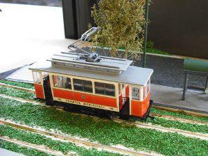 Halling streetcar models